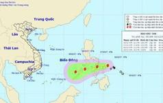 Bão Kai-tak tiến vào Biển Đông diễn biến phức tạp