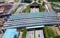 Vụ sập giàn giáo trước hầm Thủ Thiêm: Giao thông khu Đông Sài Gòn tê liệt nhiều giờ mới thông xe