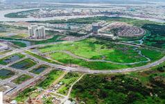 Toàn cảnh khu đất vàng Thủ Thiêm, dự kiến xây quảng trường hơn 2.000 tỷ mang tên Chủ tịch Hồ Chí Minh