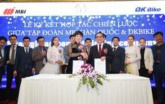 Tập đoàn MBI Hàn Quốc bắt tay DKBike triển khai dự án xe máy điện tỷ đô