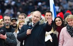 Ông Putin tái đắc cử Tổng thống Nga, tiếp tục nhiệm kỳ 6 năm