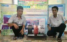 Học sinh làm máy điều hòa tiên tiến, thân thiện môi trường