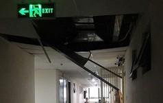Chung cư Tân Tây Đô: Sau rơi gạch ốp tường là sập trần thạch cao