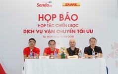 Sen Đỏ bắt tay DHL đẩy mạnh chất lượng dịch vụ giao nhận thương mại điện tử