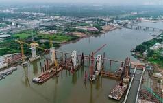 Những hình ảnh mới nhất của dự án chống ngập 10.000 tỷ đồng ở TP.HCM
