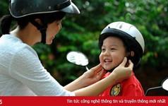 Bắt buộc học sinh từ 6 tuổi phải đội mũ bảo hiểm khi ngồi xe máy, xe đạp điện
