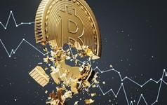Bão tố lại nổi lên với Bitcoin, thổi bay 15% giá trị trong nửa giờ