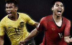 Trừ bàn thắng, Malaysia vượt trội mọi chỉ số trước Việt Nam