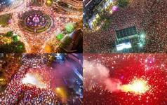 Những khoảnh khắc ấn tượng khó quên của hàng triệu người hâm mộ cả nước khi ĐT Việt Nam vô địch AFF Cup 2018
