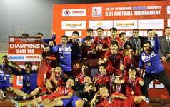 Việt Nam lội ngược dòng thắng Myanmar, vô địch Giải U21 quốc tế 2018