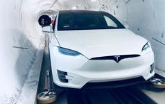 Elon Musk ra mắt đường hầm đầu tiên của Công ty Nhàm chán, đích thân ông ngồi xe Tesla đi thử