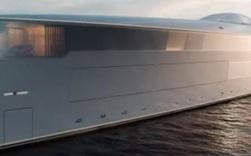 Clip: Cận cảnh siêu du thuyền nghìn tỷ chạy bằng hydro đầu tiên trên thế giới