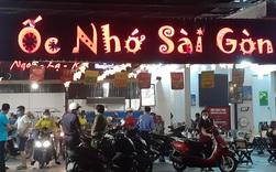 Quán ốc Nhớ Sài Gòn bị xử phạt vì nhận 60 khách vào nhậu