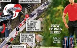Xuất hiện người hùng giấu mặt giúp huyền thoại làng golf Tiger Woods thoát khỏi lưỡi hái tử thần