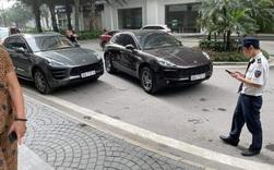 Hà Nội: Hy hữu 2 xe sang Porsche Macan cùng biển số gặp nhau tại chung cư cao cấp