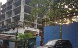 Xót xa dự án bỏ hoang hàng thập kỷ giữa Thủ đô