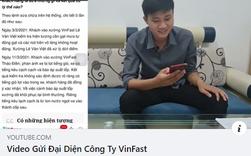 """Chủ kênh YouTube GoGo TV lại đăng Video gửi đại diện VinFast"""" nhưng xoá ngay sau 1 tiếng"""
