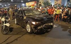 """Tông hàng loạt xe máy khiến nhiều người thương vong, nữ tài xế BMW bình thản nói """"mọi chuyện cứ để em lo"""""""