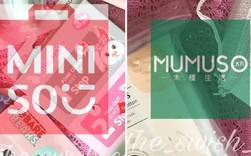 """Thương hiệu Trung Quốc Miniso, Mumuso sao chép phong cách """"Nhật, Hàn"""" cũng tương tự Tous Les Jours và Paris Baguette của Hàn bắt chước style"""