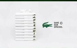 Lacoste thay thế logo cá sấu trên áo polo bằng 10 loài động vật có nguy cơ tuyệt chủng