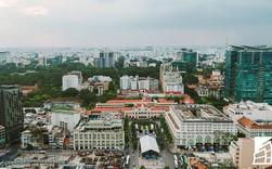 """20 khu đất vàng tại trung tâm TP.HCM nhìn từ trên cao, nhiều dự án vẫn đang """"án binh bất động"""""""
