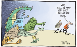 """Vì sao dân chứng khoán thường dùng thuật ngữ """"Sell In May And Go Away"""" cho hiện tượng bán tháo cổ phiếu khi vào hè?"""