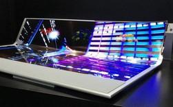 LG lần đầu trình diễn màn hình OLED 77 inch kích thước lớn, có thể cuộn tròn và trong suốt vô cùng độc đáo