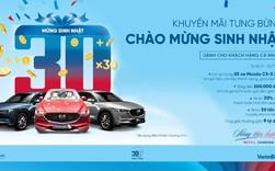 Cơ hội trúng 3 xe ô tô Mazda CX5 khi giao dịch với VietinBank