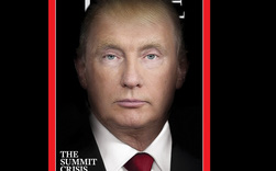 Tạp chí TIME 'hợp nhất' mặt Trump và Putin để làm trang bìa