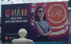 Lazada vs Tiki: Cuộc chiến Billboard ở TP Hồ Chí Minh