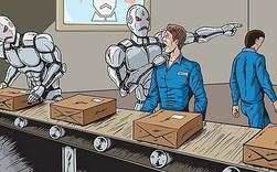 """Robot """"đánh chiếm"""" thị trường lao động, các nhà quản trị cần làm gì?"""