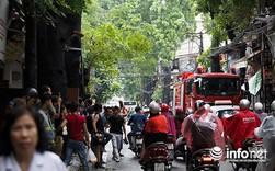 Vụ cháy lớn ở Đê La Thành: Xóm trọ bất ngờ bùng cháy lại