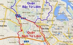 Hà Nội điều chỉnh địa giới: Nhiều phường thuộc quận Nam Từ Liêm, Bắc Từ Liêm sẽ về quận Cầu Giấy