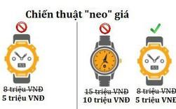 """Chiến thuật """"neo"""" giá: Làm thế nào để bán được chiếc đồng hồ 5 triệu? Hãy đặt nó kế chiếc đồng hồ 10 triệu!"""