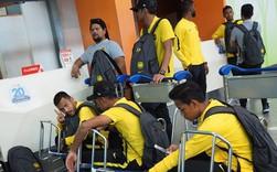 ĐT Malaysia gặp sự cố khó tin khi vừa đặt chân đến Việt Nam