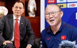 Không phải ai xa lạ, tỷ phú Phạm Nhật Vượng là người thay bầu Đức trả lương cho HLV Park Hang-Seo