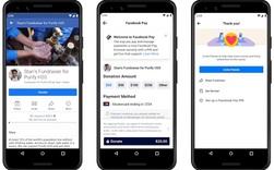 Facebook ra mắt Facebook Pay, cho thanh toán trên Messenger, WhatsApp và Instagram