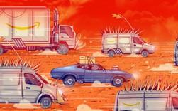 """Nhật ký Amazon - """"địa ngục trần gian"""": Tài xế Flex lương cao, phải dậy lúc 5h sáng để tranh suất với hàng nghìn tài xế khác (P3)"""
