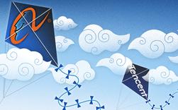 """Đụng độ dưới đất chưa đủ, 2 ông lớn công nghệ đại chiến """"trên mây"""": Tencent mạnh tay đầu tư hàng trăm triệu tệ hòng """"nẫng"""" khách hàng từ tay Alibaba"""