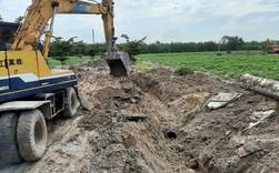 """Cận cảnh """"siêu dự án ma"""" do Alibaba rao bán bị đào xới trả lại nguyên trạng"""