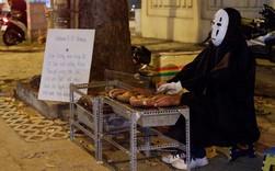 """Một anh chàng duyên hết sức trên vỉa hè Sài Gòn: """"Muốn làm người lương thiện, Vô Diện phải bán khoai!"""""""