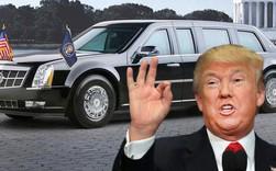 """Chiếc xe """"Quái thú 2.0"""" luôn đi theo tổng thống Trump trong các chuyến công du khắp thế giới"""