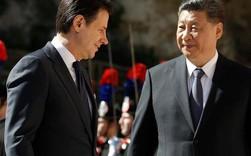 """Một nửa thế giới trở nên hoang mang khi Ý """"thân mật"""" với Trung Quốc tham gia Vành đai con đường"""