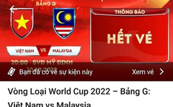 VFF đã bán hết vé xem trận Việt Nam vs Malaysia