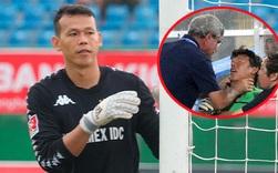 Thủ môn Việt Nam lên tiếng về bức ảnh bị bóp cổ ở SEA Games: Thầy muốn tôi ở lại chứng kiến thất bại của đội nhà