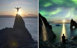 Loạt ảnh cực quang đẹp đến choáng ngợp ở đảo Greenland khiến người xem tưởng như đang lạc ra ngoài không gian