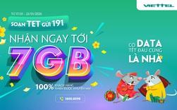 """Đáng yêu như Viettel: Khách hàng nhắn """"Tết rồi lì xì đi"""", nhà mạng tặng luôn 7GB data 4G miễn phí"""
