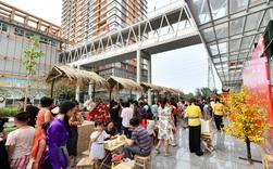 Rộn ràng Tết Việt ở các dự án bất động sản mới