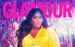 Lizzo diện trang phục Công Trí, thần thái rực rỡ, nổi bật trên trang bìa tạp chí Glamour