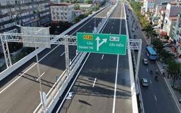Khánh thành cầu cạn Mai Dịch - Nam Thăng Long trị giá 5.343 tỷ đồng